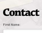 13 Bellissime pagine dei contatti