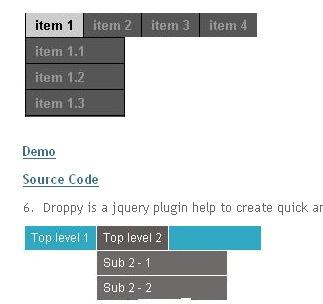 Seven jQuery plugin