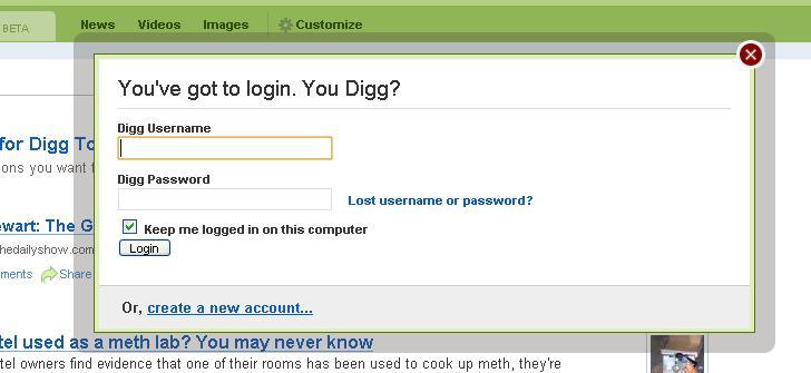 digg.com login