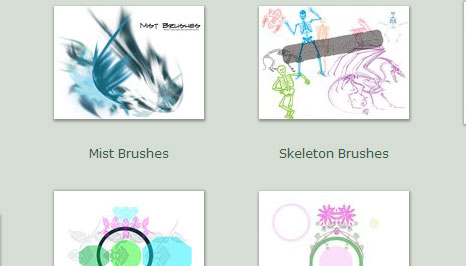 45 site photoshop brush