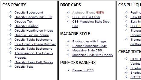 CSS Text Tricks