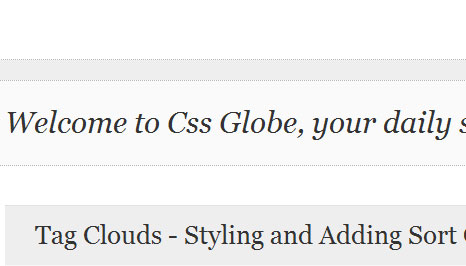 cssglobe.com