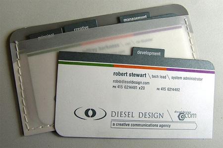 Deisel Design Business Card