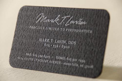 Mark Lavin Business Card