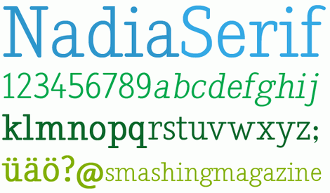 Nadia Serif