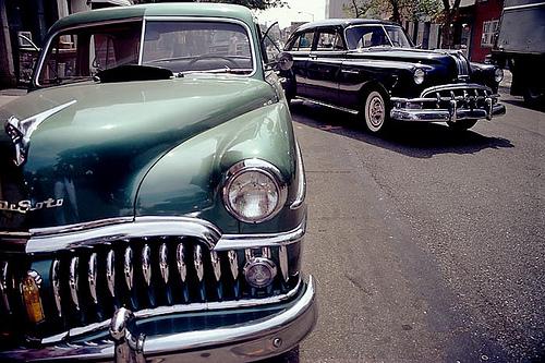 Old Pontiac '50