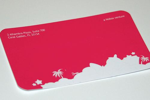 Scrapblog Business Card