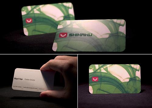 Shikaku business card