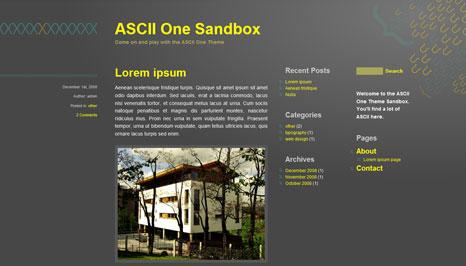 ASCII One