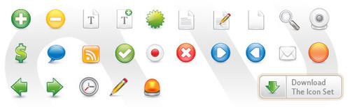 Monofactor Icon Set