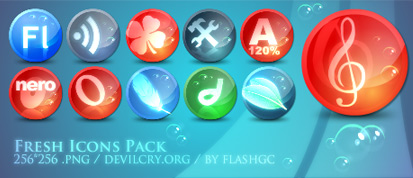 Fresh Icons Pack