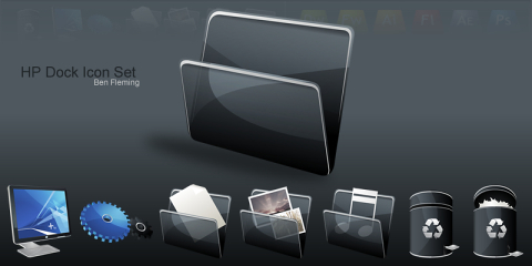 HP Dock Icon Set