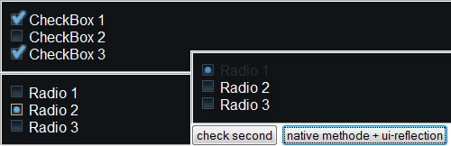 Radio Button and Check Box Replacement