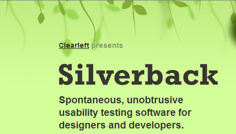 silverbackapp header