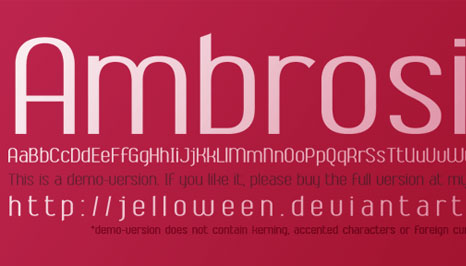 45 Beautiful Free Fonts for Modern Design Trends