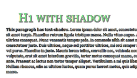 How To Text-shadow in Internet Explorer using jQuery