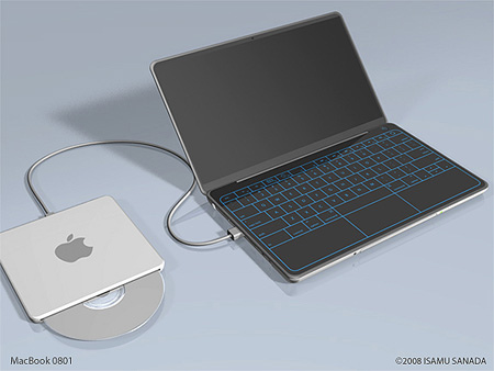Macbook Laptop Concept
