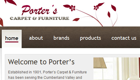 porter's carpet and furniture