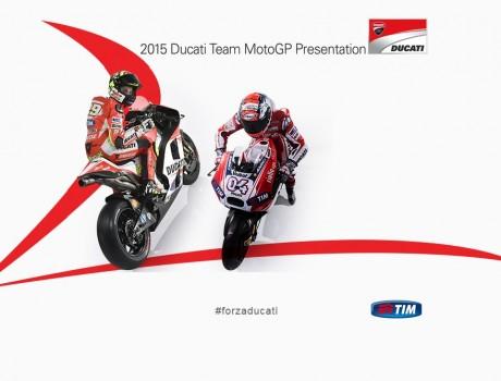 2015 Ducati MotoGP Presentation